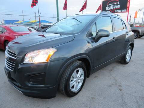 2016 Chevrolet Trax for sale at Moving Rides in El Paso TX