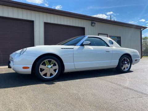 2002 Ford Thunderbird for sale at Ryans Auto Sales in Muncie IN