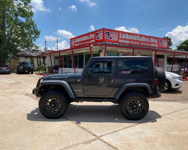 2010 Jeep Wrangler for sale at LA Auto Sales in Monroe LA
