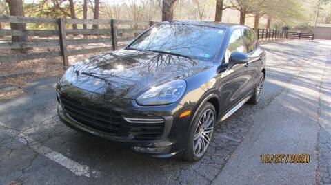 2016 Porsche Cayenne for sale at German Auto World LLC in Alpharetta GA