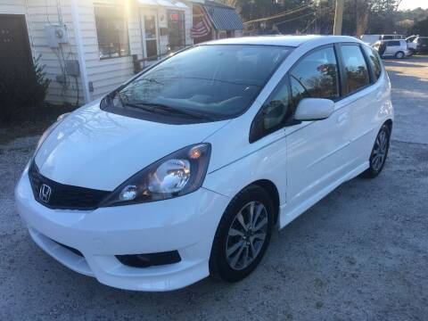 2012 Honda Fit for sale at Deme Motors in Raleigh NC
