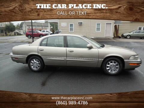 2002 Buick Park Avenue for sale at THE CAR PLACE INC. in Somersville CT