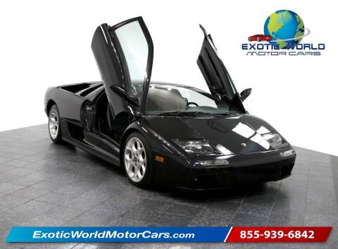 2001 Lamborghini Diablo for sale at Exotic World Motor Cars in Addison TX