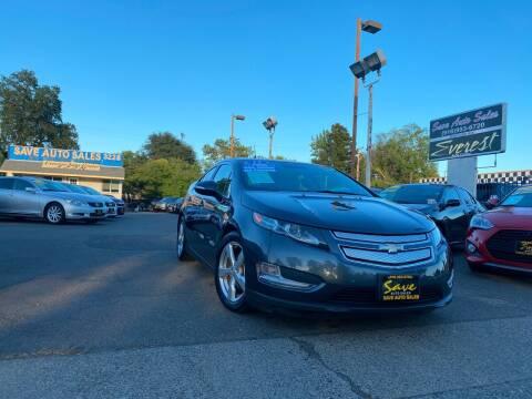 2012 Chevrolet Volt for sale at Save Auto Sales in Sacramento CA