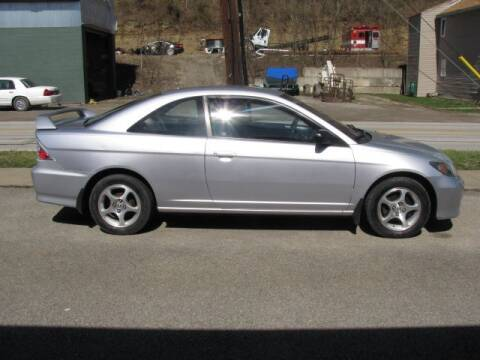 2004 Honda Civic for sale at TRAIN STATION AUTO INC in Brownsville PA