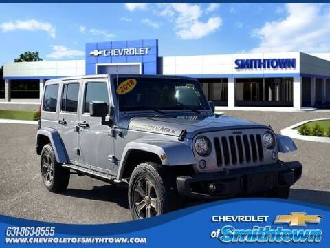 2018 Jeep Wrangler JK Unlimited for sale at CHEVROLET OF SMITHTOWN in Saint James NY