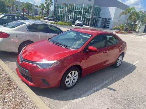 2016 Toyota Corolla for sale at Infiniti Stuart in Stuart FL