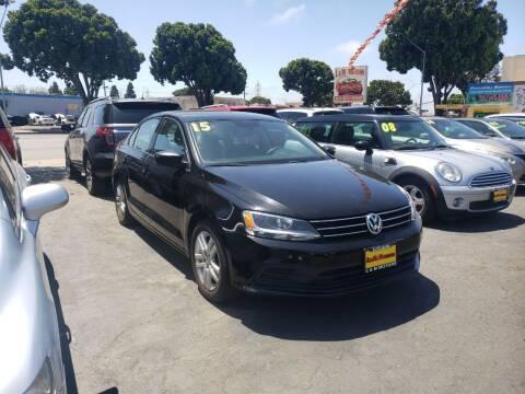 2015 Volkswagen Jetta for sale at L & M MOTORS in Santa Maria CA