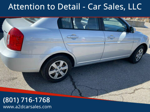 2010 Hyundai Accent for sale at Attention to Detail - Car Sales, LLC in Ogden UT