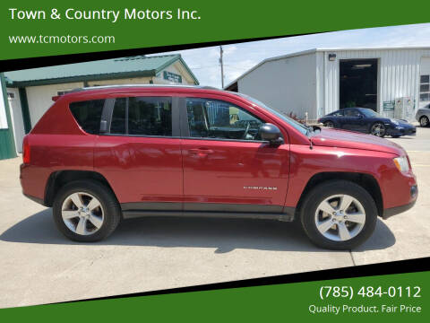 2012 Jeep Compass for sale at Town & Country Motors Inc. in Meriden KS