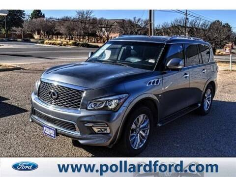 2016 Infiniti QX80 for sale at South Plains Autoplex by RANDY BUCHANAN in Lubbock TX