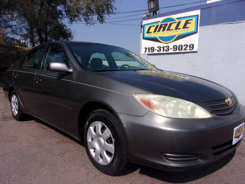 2004 Toyota Camry for sale at Circle Auto Center in Colorado Springs CO