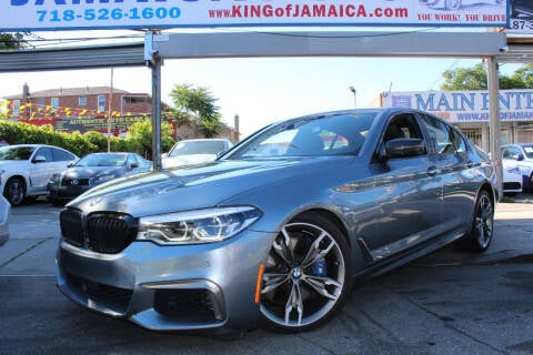 2018 BMW 5 Series for sale at MIKEY AUTO INC in Hollis NY