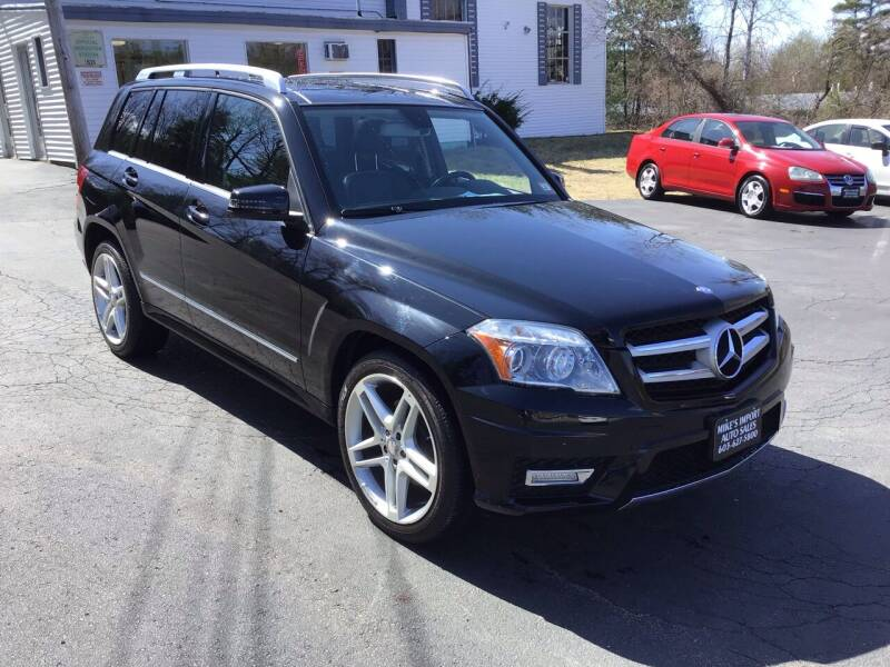 2012 Mercedes-Benz GLK for sale at Mikes Import Auto Sales INC in Hooksett NH