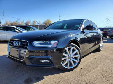2013 Audi A4 for sale at LA Motors LLC in Denver CO