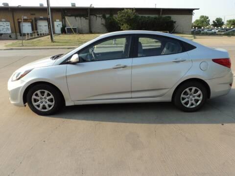 2012 Hyundai Accent for sale at SPORT CITY MOTORS in Dallas TX