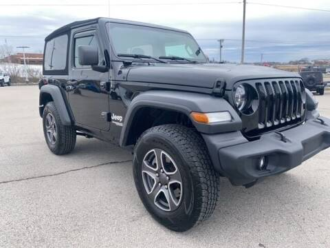 2020 Jeep Wrangler for sale at Mann Chrysler Dodge Jeep of Richmond in Richmond KY