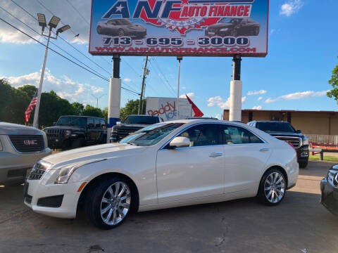 2013 Cadillac ATS for sale at ANF AUTO FINANCE in Houston TX