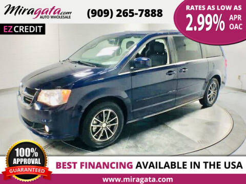 2017 Dodge Grand Caravan for sale at Miragata Auto in Bloomington CA
