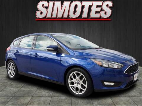 2015 Ford Focus for sale at SIMOTES MOTORS in Minooka IL