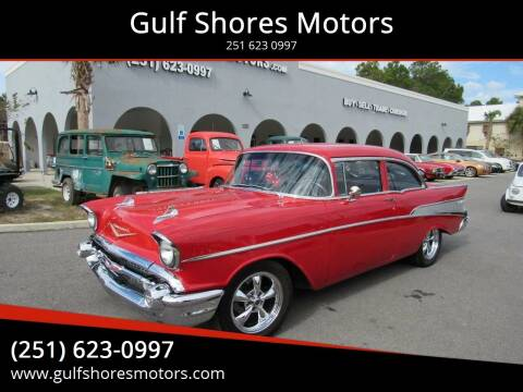 1957 Chevrolet Bel Air for sale at Gulf Shores Motors in Gulf Shores AL