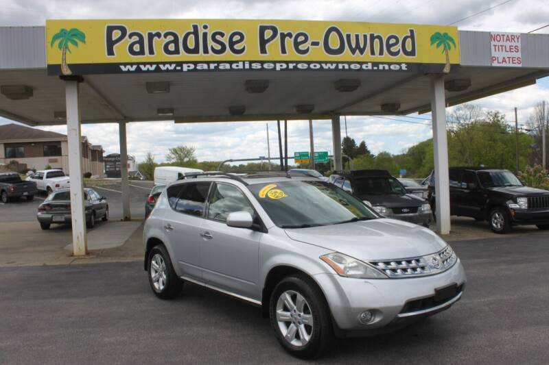 2007 Nissan Murano for sale in New Castle, PA