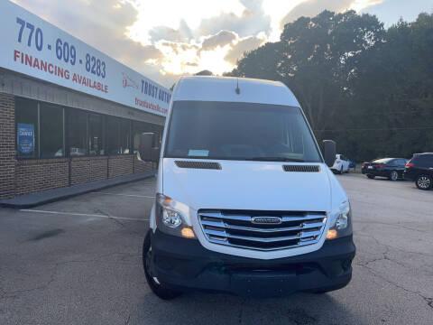 2016 Freightliner Sprinter Cargo for sale at Trust Autos, LLC in Decatur GA