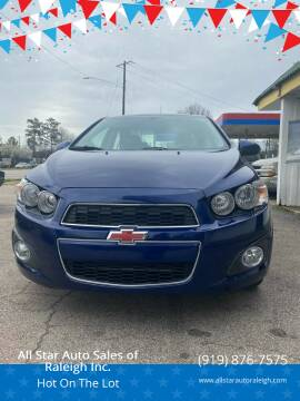 2014 Chevrolet Sonic for sale at All Star Auto Sales of Raleigh Inc. in Raleigh NC