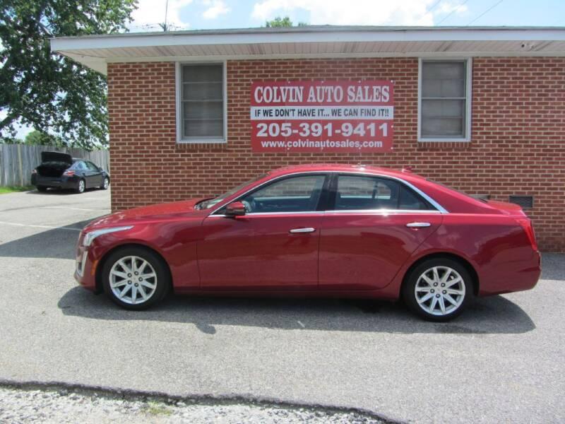 2014 Cadillac CTS for sale at Colvin Auto Sales in Tuscaloosa AL