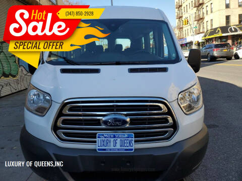 2018 Ford Transit Passenger for sale at LUXURY OF QUEENS,INC in Long Island City NY