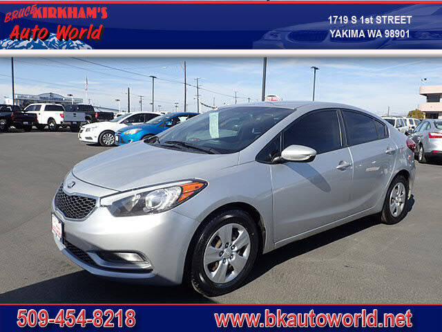 2016 Kia Forte for sale at Bruce Kirkham Auto World in Yakima WA
