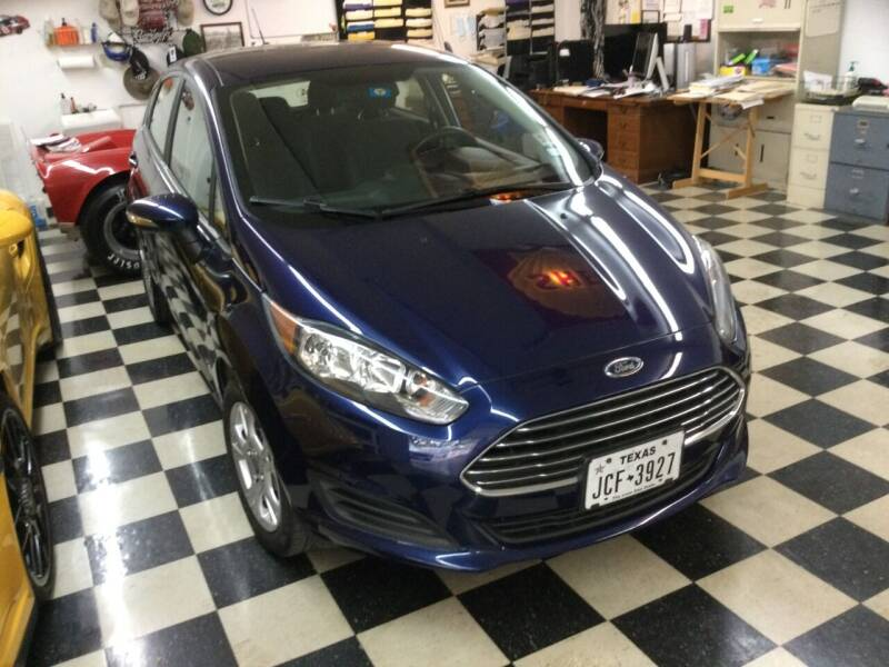 2016 Ford Fiesta for sale at TEXAS MOTOR WORKS in Arlington TX