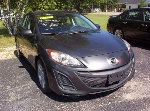2011 Mazda MAZDA3 for sale at LAKESIDE MOTORS LLC in Houghton Lake MI