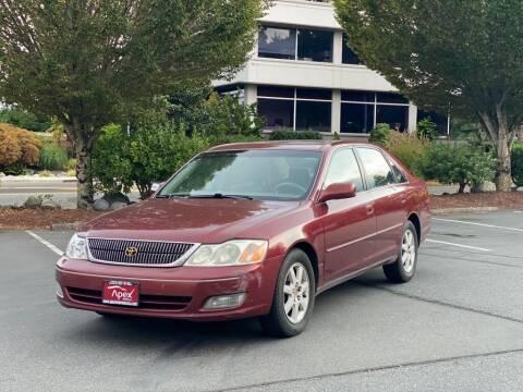 2001 Toyota Avalon for sale at Apex Motors Inc. in Tacoma WA