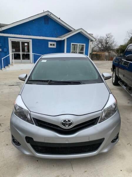 2014 Toyota Yaris for sale at Progressive Auto Plex in San Antonio TX