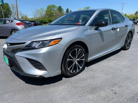 2018 Toyota Camry for sale at FREDDY'S BIG LOT in Delaware OH