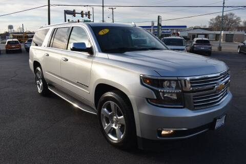 2015 Chevrolet Suburban for sale at World Class Motors in Rockford IL