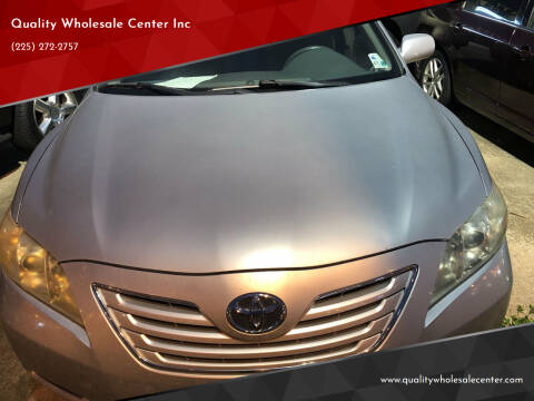 2009 Toyota Camry for sale at Quality Wholesale Center Inc in Baton Rouge LA