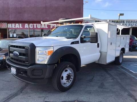 2016 Ford F-450 Super Duty for sale at Sanmiguel Motors in South Gate CA