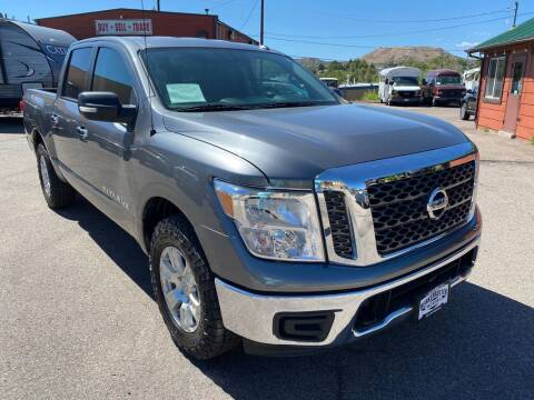 2018 Nissan Titan for sale at BERKENKOTTER MOTORS in Brighton CO
