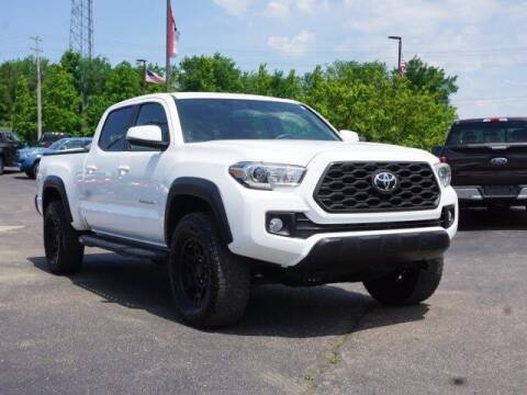 2017 Toyota Tacoma for sale at Szott Ford in Holly MI