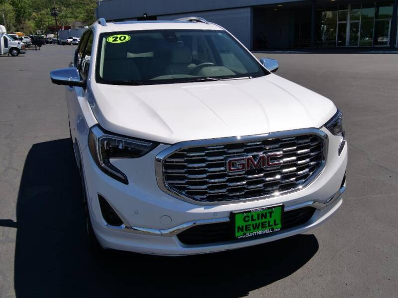 2020 GMC Terrain for sale at CLINT NEWELL USED CARS in Roseburg OR
