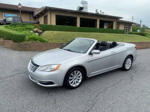 2012 Chrysler 200 Convertible for sale at WENTZ AUTO SALES in Lehighton PA