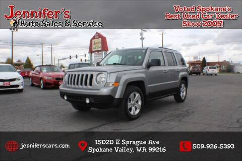 2015 Jeep Patriot for sale at Jennifer's Auto Sales in Spokane Valley WA