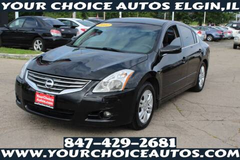 2012 Nissan Altima for sale at Your Choice Autos - Elgin in Elgin IL