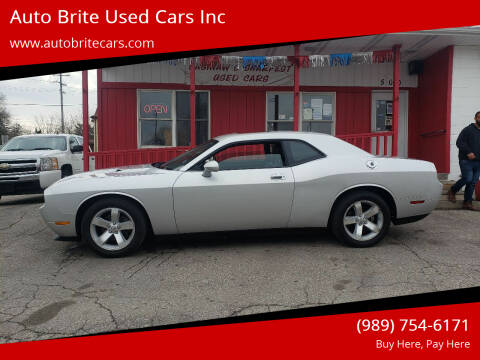 2009 Dodge Challenger for sale at Auto Brite Used Cars Inc in Saginaw MI