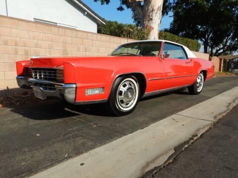 1967 Cadillac Eldorado for sale at California Cadillac & Collectibles in Los Angeles CA