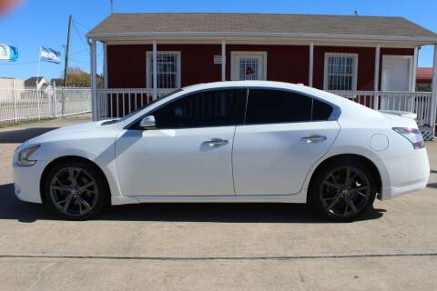 2014 Nissan Maxima for sale at AMT AUTO SALES LLC in Houston TX