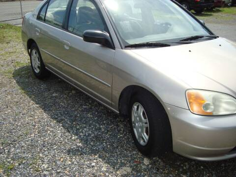 2002 Honda Civic for sale at Branch Avenue Auto Auction in Clinton MD