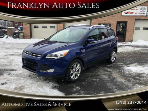2014 Ford Escape for sale at Franklyn Auto Sales in Cohoes NY